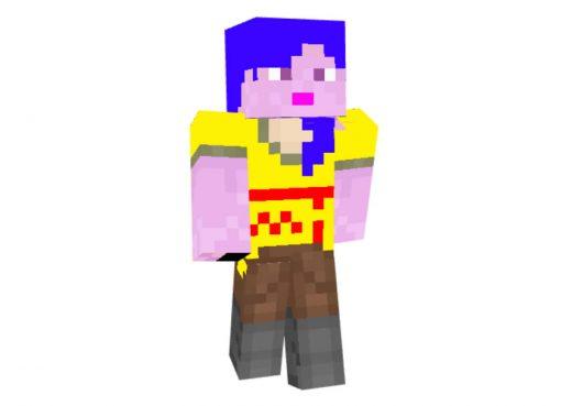 Alex Minus Skin for Minecraft Girl