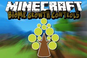 Biome Growth Controls Mod