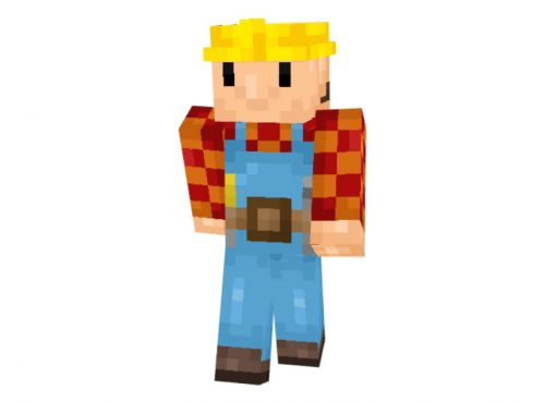 Bob the Builder skin for Minecraft