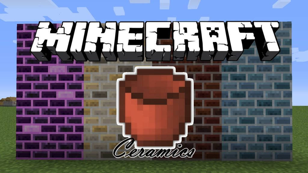 Ceramics Mod for Minecraft