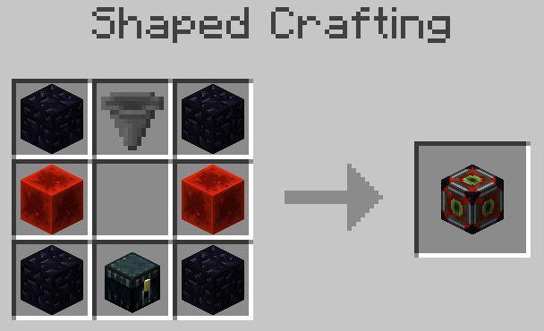 Ender-Rift Mod Crafting Recipe 2