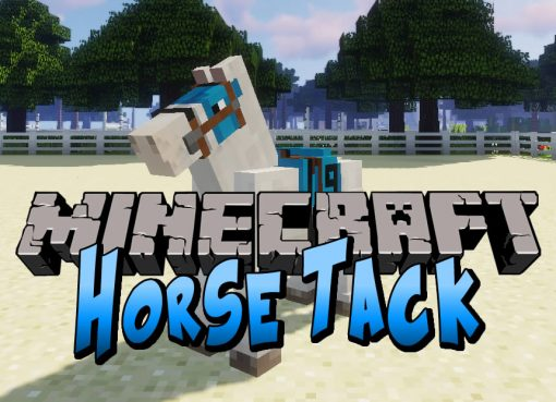 Horse Tack Mod for Minecraft