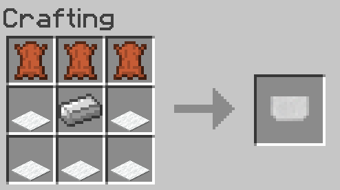 Horse Tack Mod Crafting Recipe 3