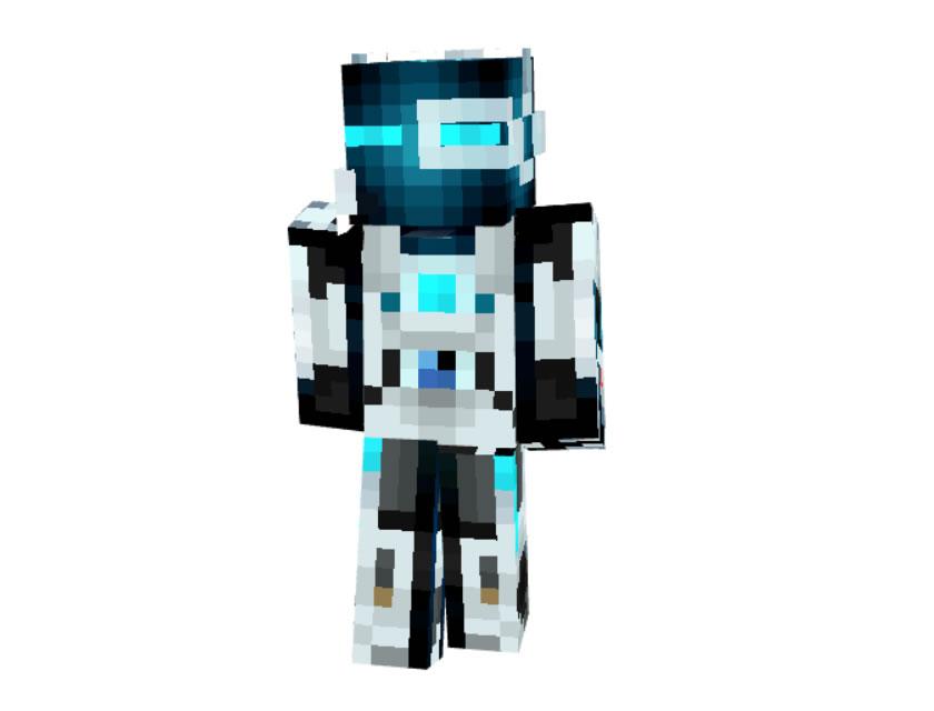 MiSTiK45 Robot Skin for Minecraft