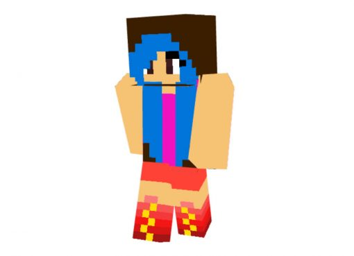 Olivianna Skin for Minecraft Girl
