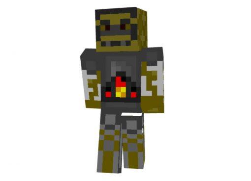 Steampunk Robot Skin for Minecraft