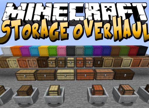 Storage Overhaul Mod for Minecraft