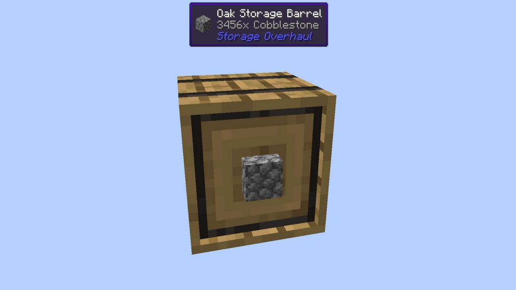 Storage Overhaul Mod Screenshot 8