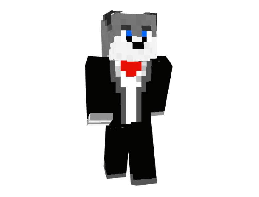 The Sexy Husky (Sled Dog) Skin Minecraft