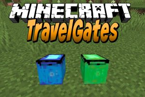 TravelGates Mod for Minecraft