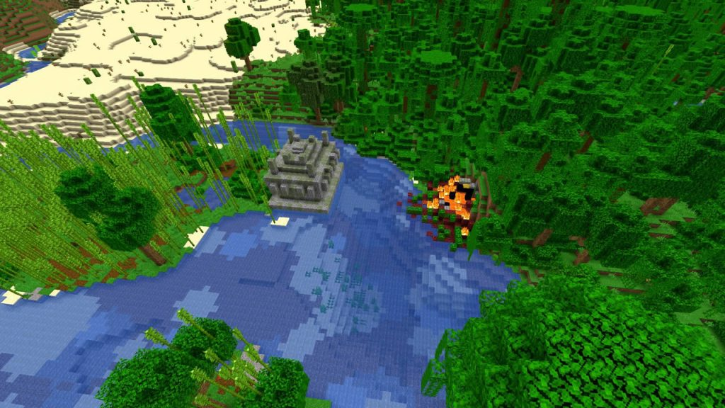 Villages Desert and Jungle Pyramids Seed Screenshot 2
