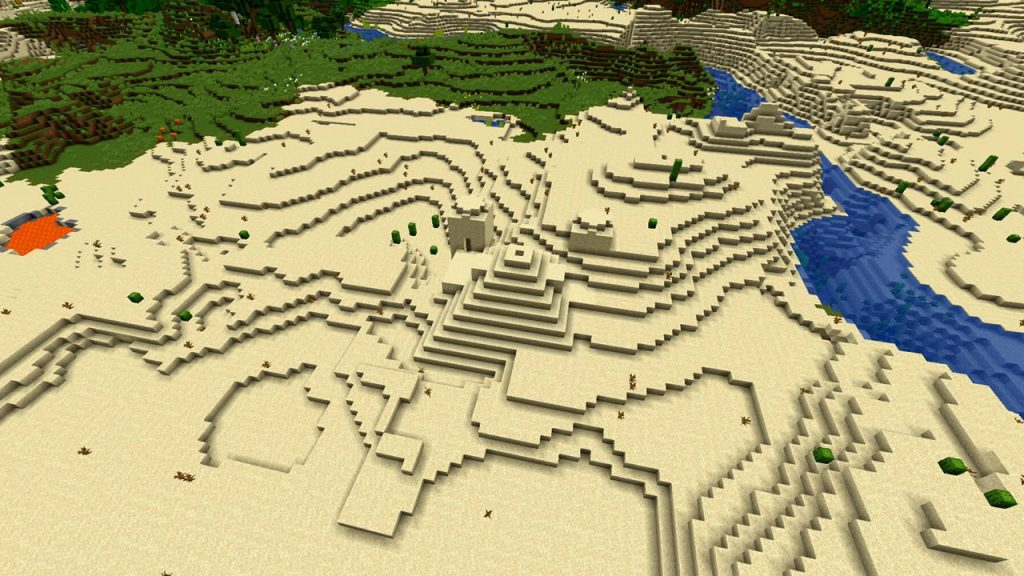 Villages Desert and Jungle Pyramids Seed Screenshot 4