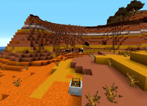 Wasteland Monument and Many Mineshafts Seed for Minecraft
