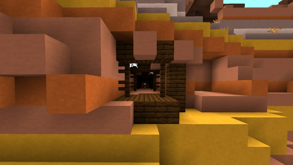 Wasteland Monument and Many Mineshafts Seed Screenshot 2