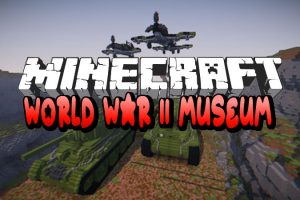 World War 2 Museum Map for Minecraft