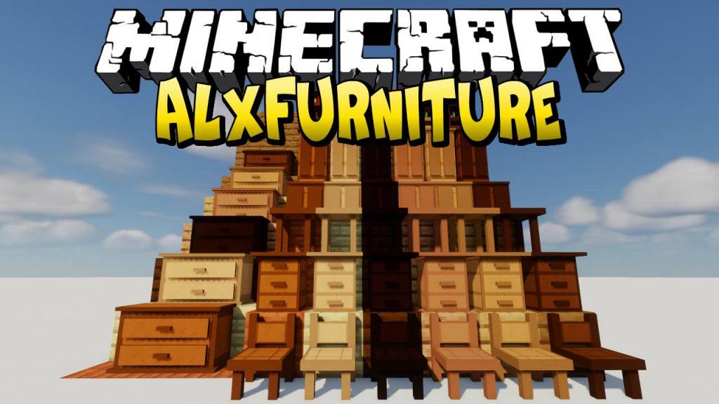 AlxFurniture Mod for Minecraft