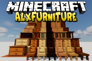 AlxFurniture Mod for Minecraft