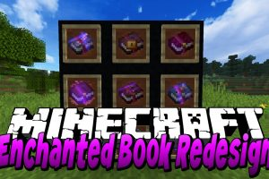 Enchanted Book Redesign Mod for Minecraft