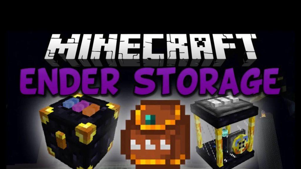 Ender Storage Mod for Minecraft