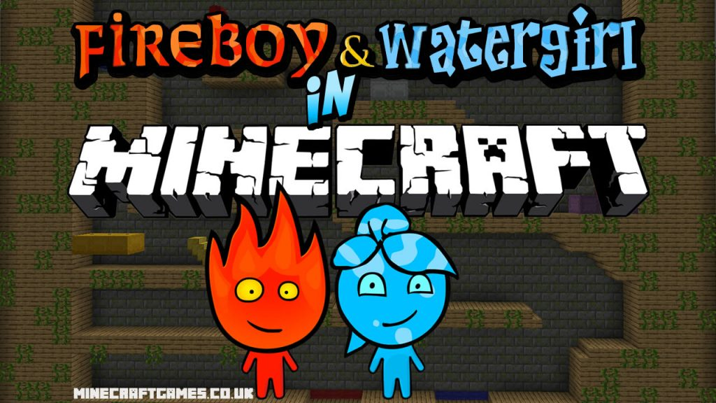 Fireboy and Watergirl Map for Minecraft