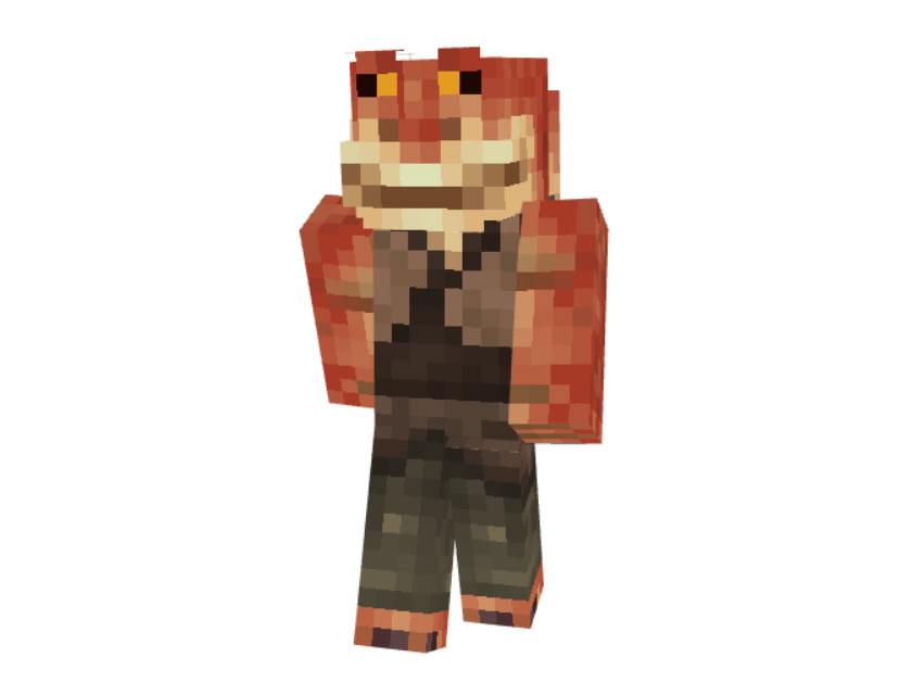 Jar Jar Binks from the Star Wars Saga Skin for Minecraft