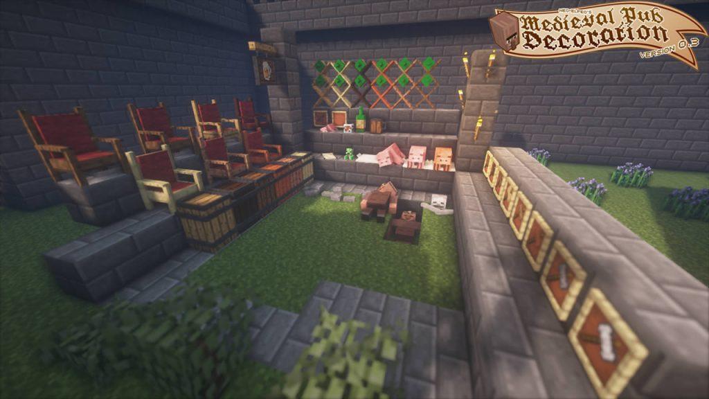 Neoelfeos Medieval Pub Decoration Mod Screenshot