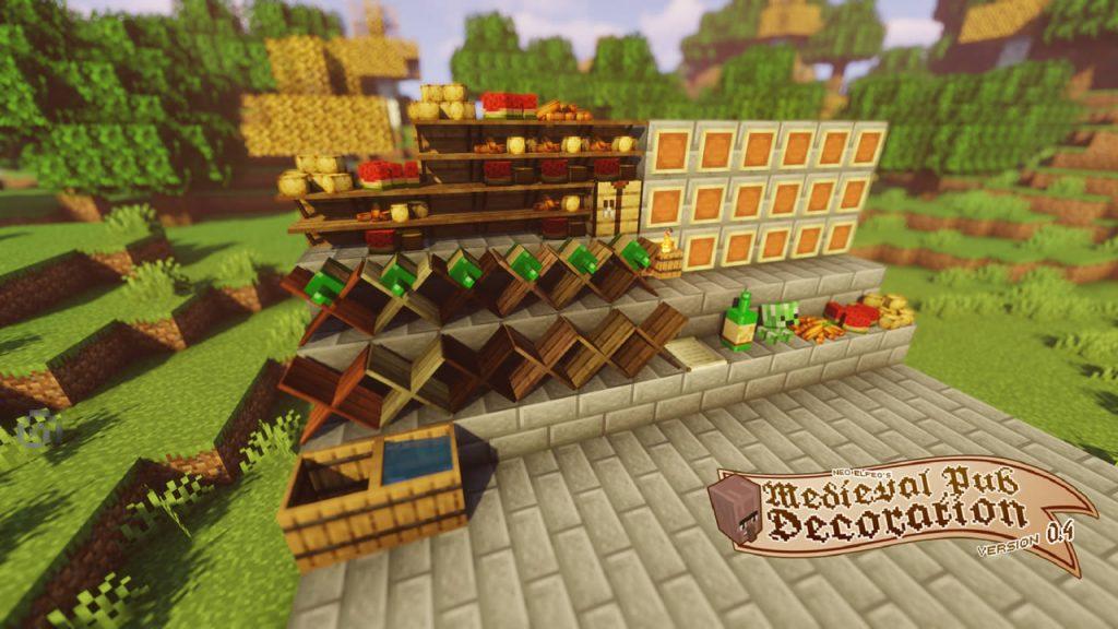 Neoelfeos Medieval Pub Decoration Mod Screenshot 2