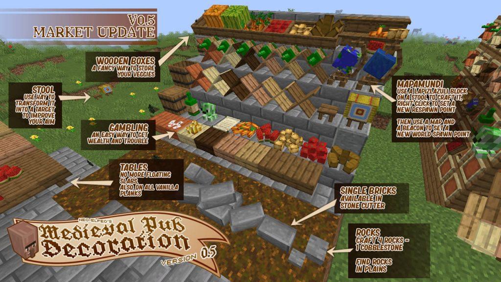 Neoelfeos Medieval Pub Decoration Mod Screenshot 3