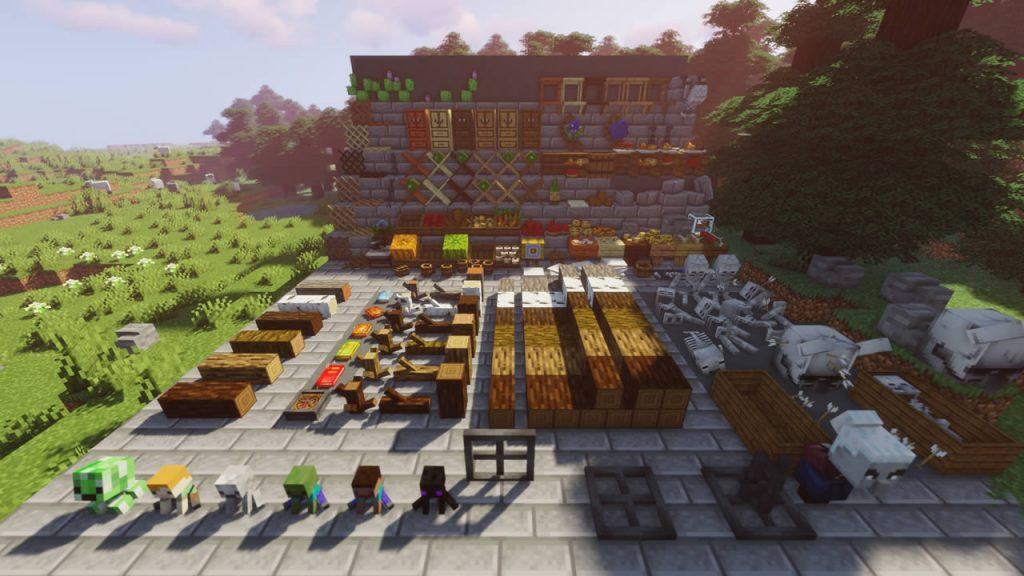 Neoelfeos Medieval Pub Decoration Mod Screenshot 6