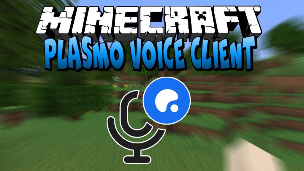 Plasmo Voice Client for Minecraft