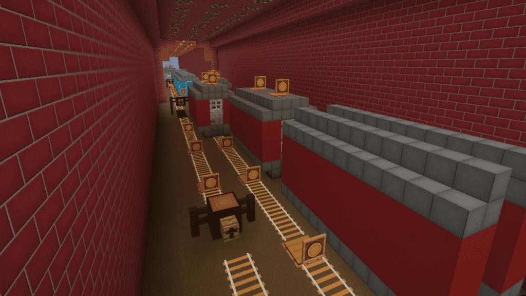 Subway Surfers in Minecraft Screenshot