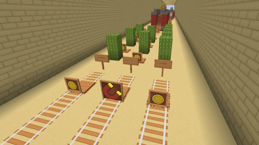 Subway Surfers in Minecraft Screenshot 2