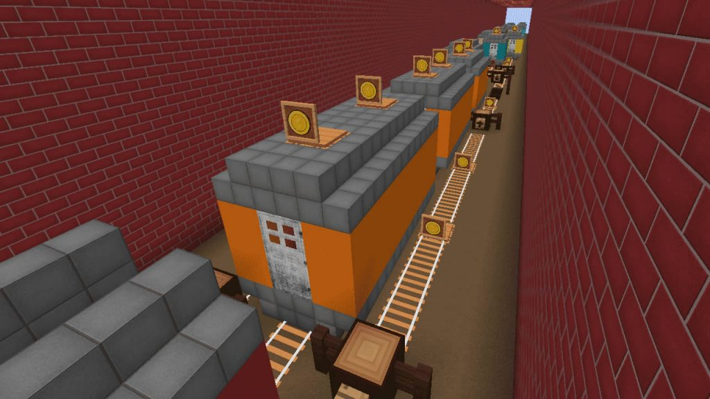 Subway Surfers in Minecraft Screenshot 3