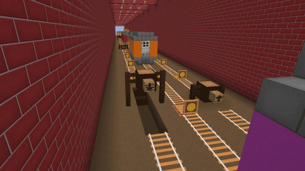Subway Surfers in Minecraft Screenshot 4