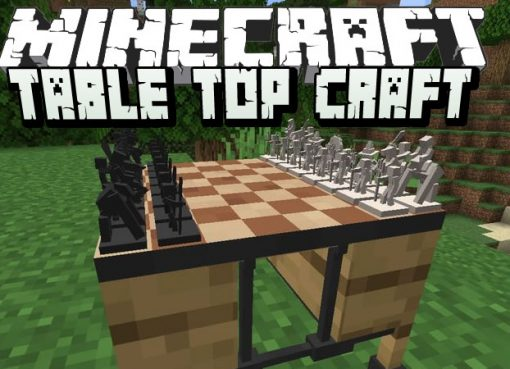 Table Top Craft Mod for Minecraft