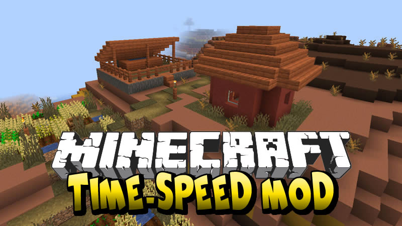 Time-speed Mod for Minecraft