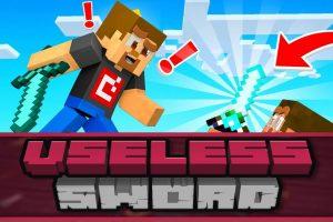 Useless Sword Mod for Minecraft