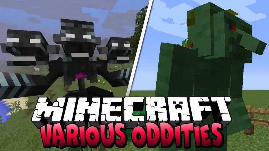 Various Oddities Mod for Minecraft