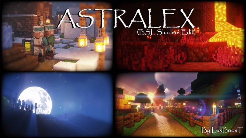 AstraLex Shaders for Minecraft