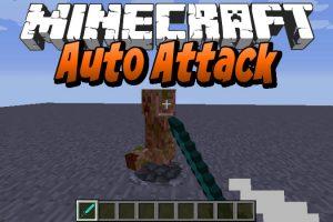 Auto Attack Mod for Minecraft