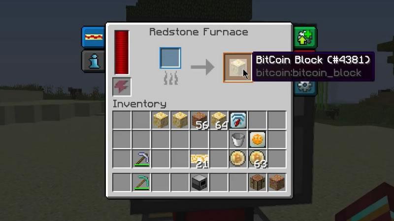 Bitcoin Mod Crafting Recipe