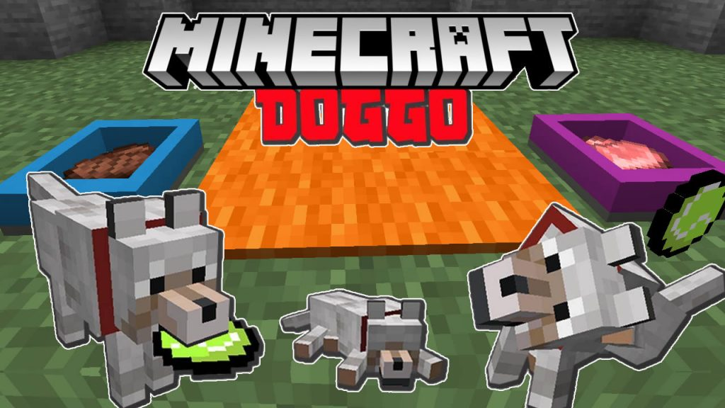 Doggo Mod for Minecraft