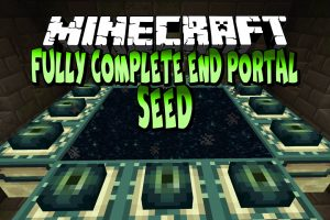 Fully Complete End Portal Seed for Minecraft