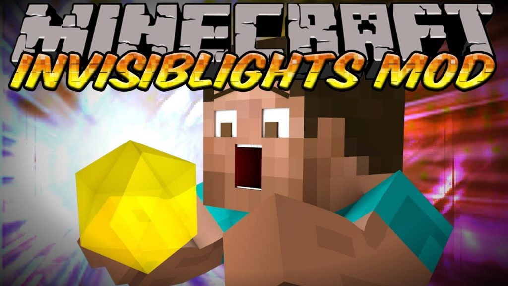 InvisibLights Mod for Minecraft