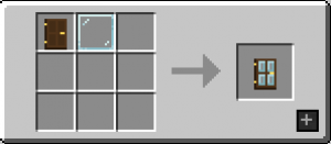 Modern Glass Doors Mod Crafting Recipe 6