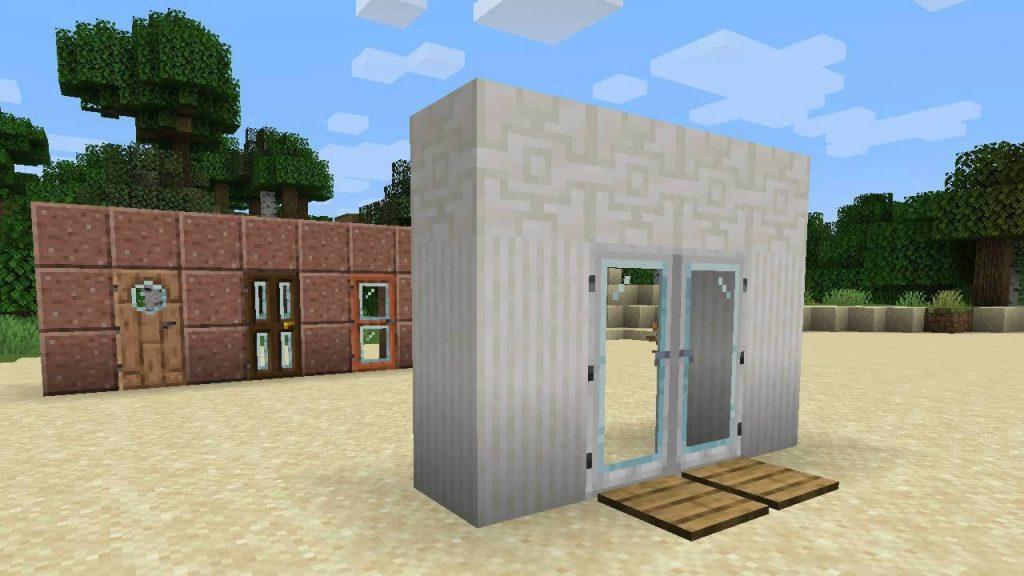 Modern Glass Doors Mod Screenshot