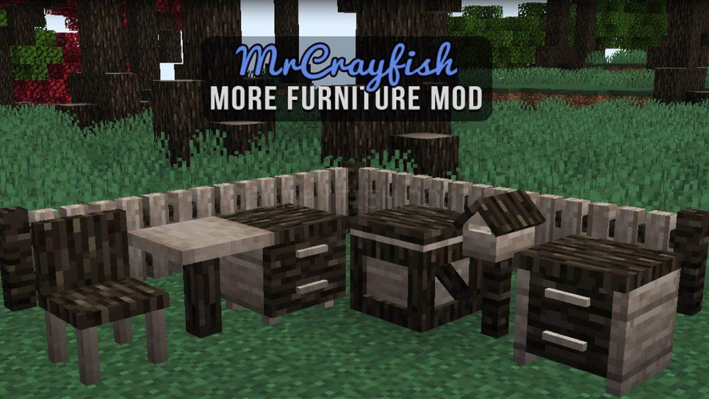 MrCrayfish's More Furniture Mod for Minecraft