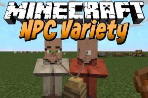NPC Variety Mod for Minecraft