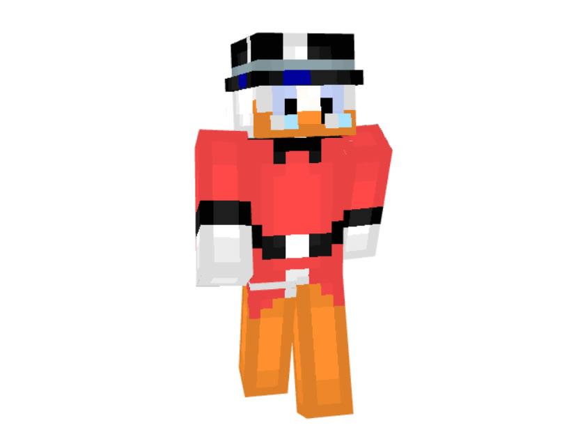 Scrooge McDuck Skin for Minecraft
