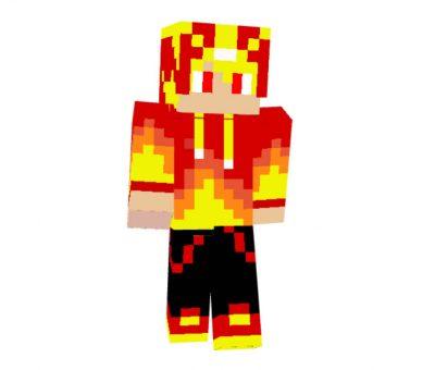 Fireboy Skin for Minecraft Game